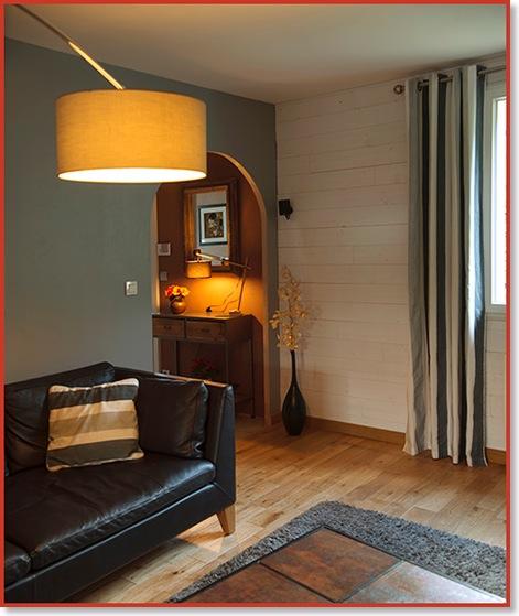 Un salon à la fois moderne et chaleureux | Réalisations 1 | Crea Renov